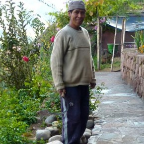 Alejo, originally from Quiabamba on the fringes of the jungle, now lives in a small mountain village above Pisaq.  He is the helpful man who works on the property and keeps the place running smoothly.