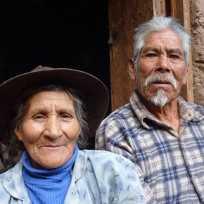 Ninety-one year old Don Paulino and his seventy year old wife Doña Nasariya are our neighbours. They actively farm the adjacent property with a fruit orchard and a rotation of maize and quinoa, potatoes onions and alfalfa. They are regularly working in their fields at first light. They work until dusk during the busy seasons; the twice-annual ploughing of their fields by bullock-teams, the sowing, planting, and harvest times.